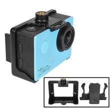 Suporte de trava para câmera de esporte, câmera de acção com clipe para cinto para sjcam sj4000 wifi sj6000 sj7000 sj9000 eken h9 h9r c30 acessórios