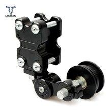 האוניברסלי CNC אופנוע tensioner שרשרת סבבת/גלגלת/chainsaw עבור סוזוקי gsxr 1000 GSXR600 GSXR750 b מלך B KING gsr 600