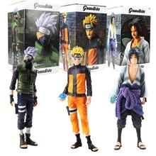 3 รูปแบบอะนิเมะ Naruto ตัวเลข Uzumaki Naruto Uchiha Sasuke Hatake Kakashi PVC Action Figure รูปที่สะสมของเล่นของขวัญเด็ก