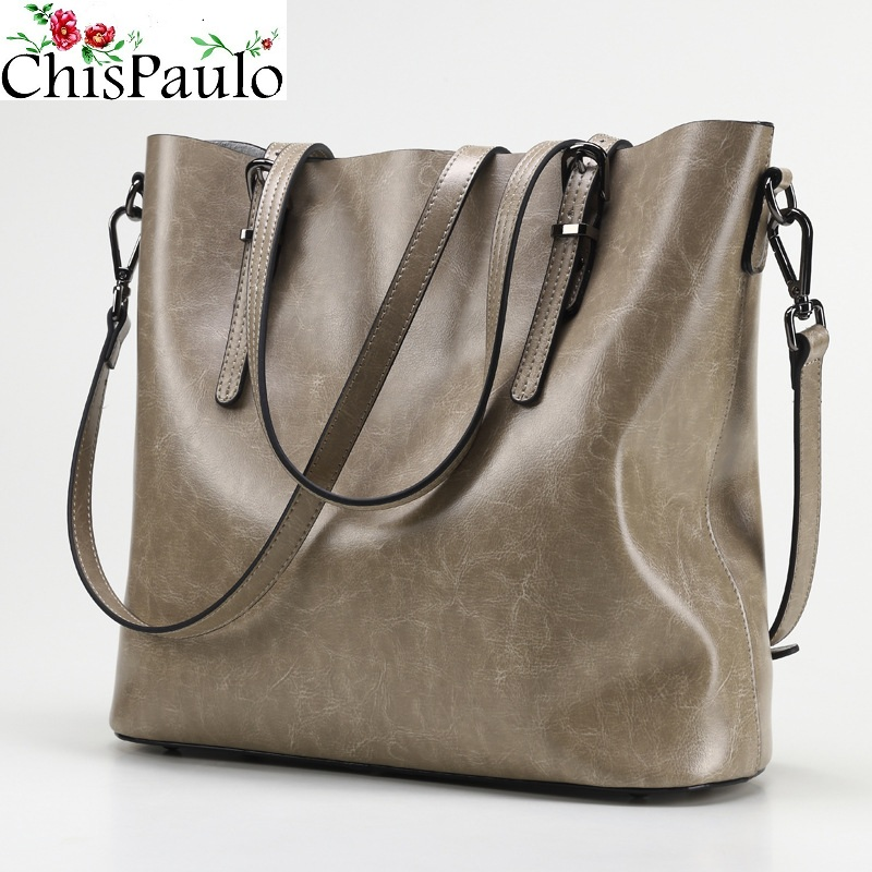 CHISPAULO Luxury Brand Women Bags Designer Cowhide Women Genuine Leather Handbags Fashion Women's Shoulder Messenger Bags T351 chispaulo 2017 designer brand cowhide women genuine leather handbag fashion cacual women s shouldercrossbody messenger bags x12