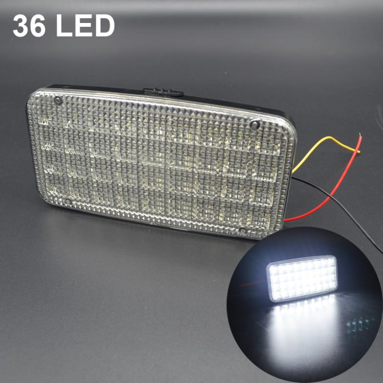Car Ceiling Light: 4X9 LED DC12V Car Styling Indoor Lamp Super Bright Roof Ceiling Lamp  Interior Decorative Dome Light,Lighting