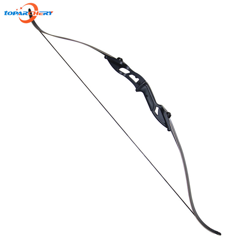 Take down Bow Recurve Bow Aluminum Alloy Wooden Take-down Bow 40lbs for Hunting Shooting Training Target Practice Sports Games