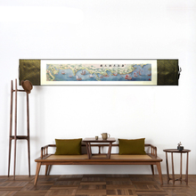 Silk Road Wall Picture Art Fabric Poster Print Scroll Painting Chinese Home Accessories fabulous Decorative decor