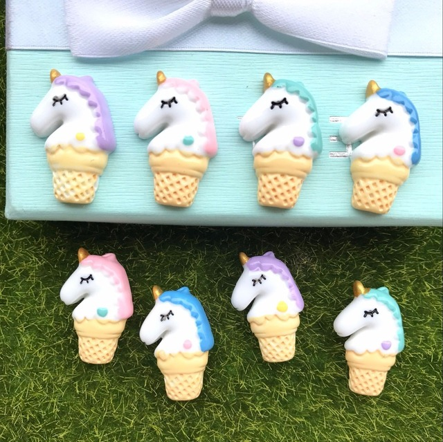 Free Shipping Resin New Arrival Adorable Unicorn Horse Hot Selling
