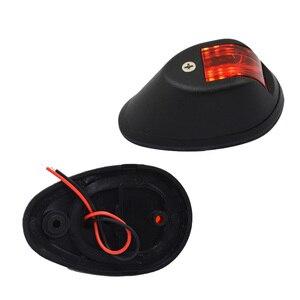 Image 4 - 1 zestaw czerwony zielony Port na prawą burtę światła 12 V łódź morska nawigacji LED żegluga z lampka sygnalizacyjna