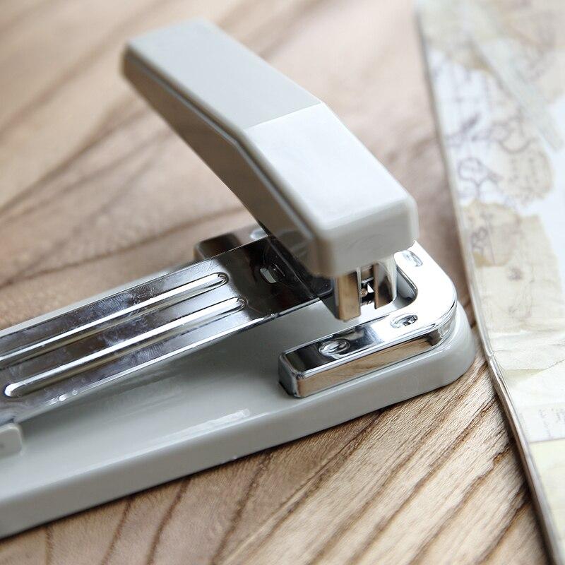 360 Degree Rotation Manual Stapler Heavy Large 24/6 Can Be Set 35 Sheets Of Paper Grapadora Papelaria