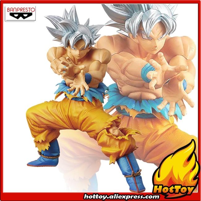 100% Original Banpresto DXF THE SUPER WARRIORS SPECIAL Collection Figure - Son Goku Ultra Instinct From Dragon Ball SUPER 100% original banpresto dxf the super warriors vol 3 collection figure super saiyan god ss vegetto from dragon ball super