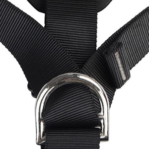 Image 4 - XINDA Top Quality Professional Harnesses Rock Climbing High altitude protection Full Body Safety Belt Anti Fall Protective Gear