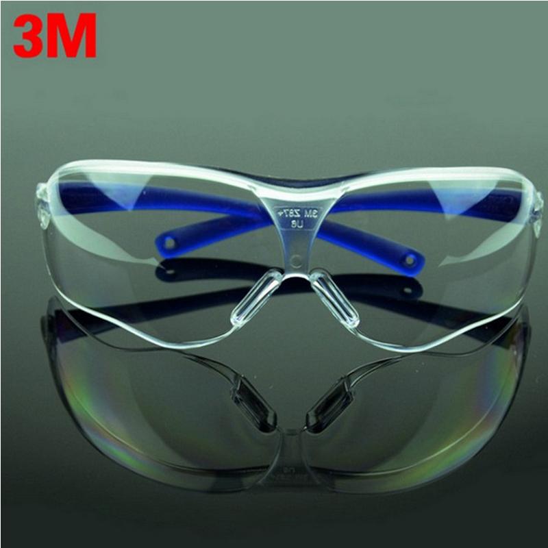 3 m 10434 Óculos de Segurança Óculos Anti vento areia Nevoeiro choque  Resistente À Poeira Transparente Óculos óculos de proteção óculos de moda  masculina em ... 1660cde28a