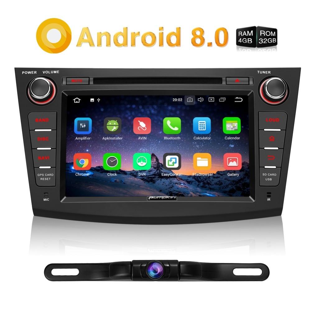 Pumpkin 2 Din Android 8.0 Car Multimedia DVD Player GPS