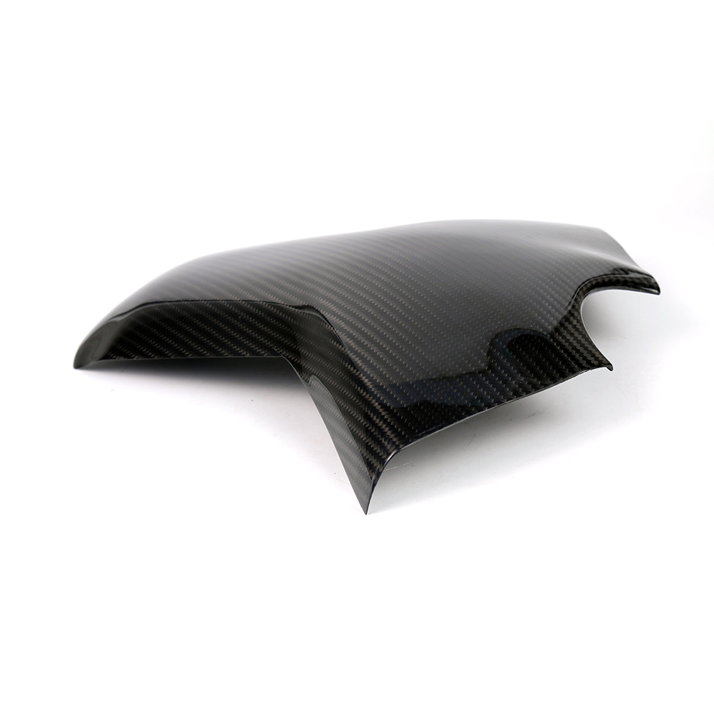 Motorcycle Carbon Fiber Rear Tank Protection Cover Pad Fairing Accessories For Yamaha MT09 FZ09 MT 09 FZ 09 2013 2014 - 2017 15 motorcycle engine cover protection case for mt 09 mt09 fz 09 fz09 2013 2017