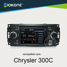 NEW Coming IOKONE Car DVD Player For Chrysler 300C With FM/AM,Bluetooth,GPS,iPod,Steering Wheel Control,Canbus