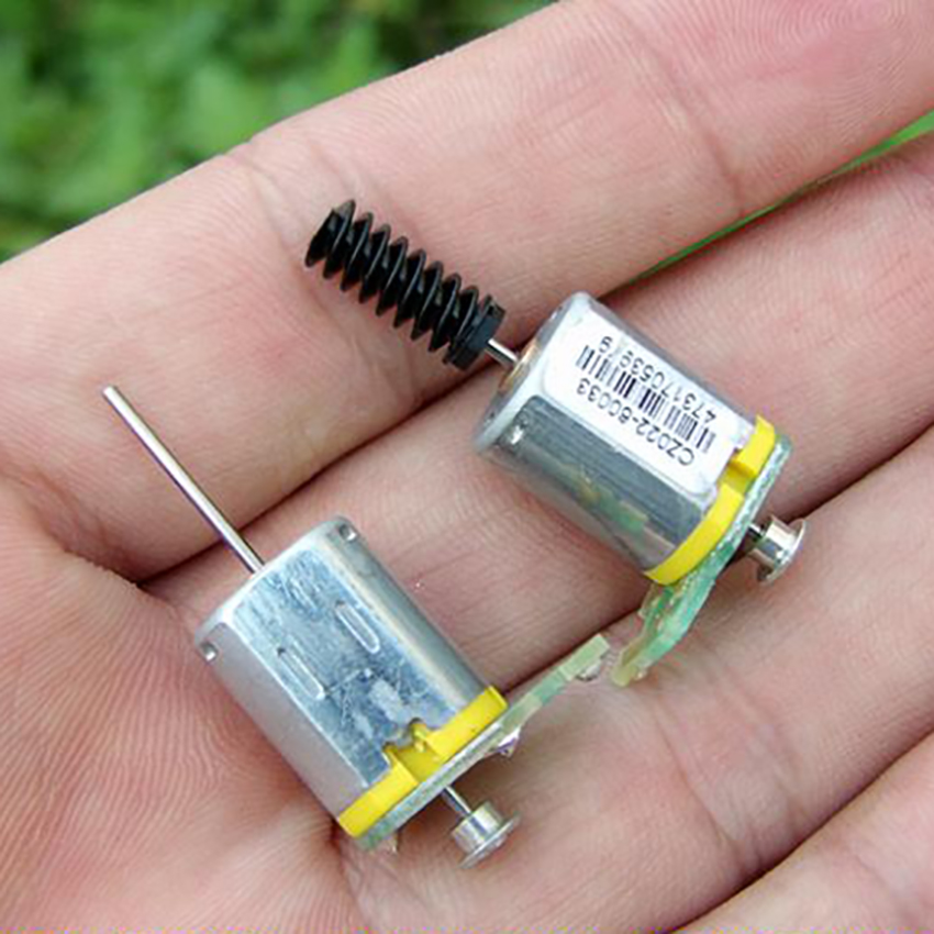 <font><b>N20</b></font> Micro Motor DC 12V-24V 40MA-55MA Long Shaft Motor With Worm Rod Suitable for Adding <font><b>Encoder</b></font> DIY Accessories image