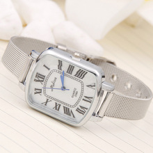 ladies watches top brand luxury Geneva quartz watch Women Fashion Casual alloy alloy mesh belt Bracelet Clock femmes montres