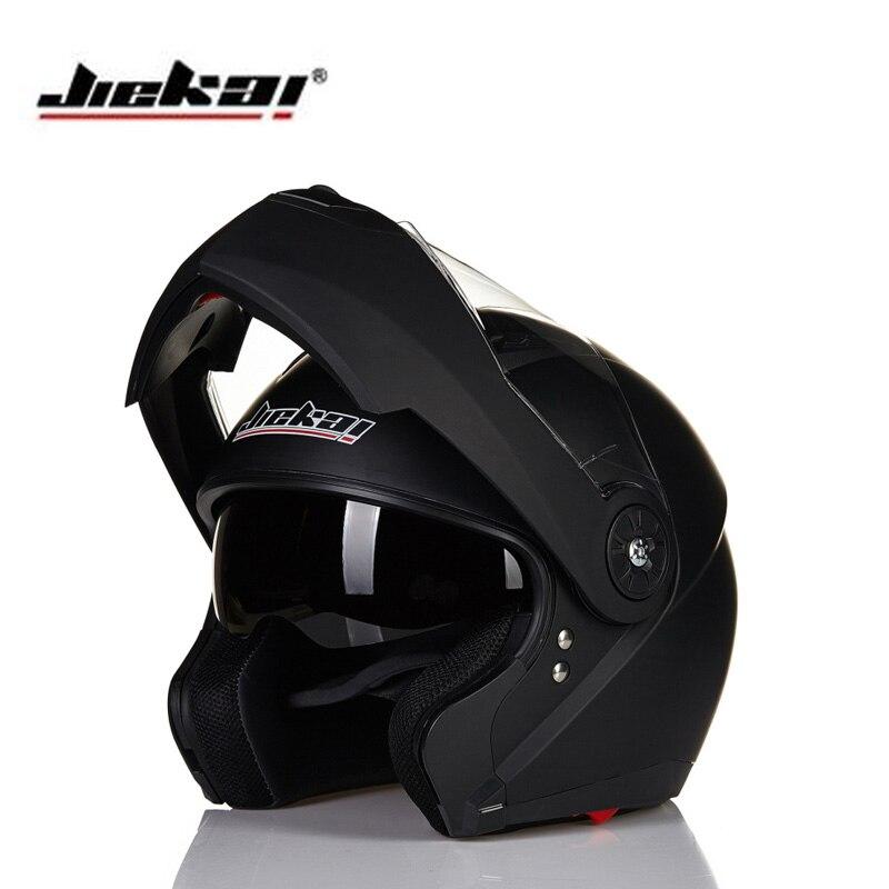 ФОТО New Jiekai 115 flip up motorcycle helmet men full face moto helmet double lens racing helmet motocicleta capacete moto cascos