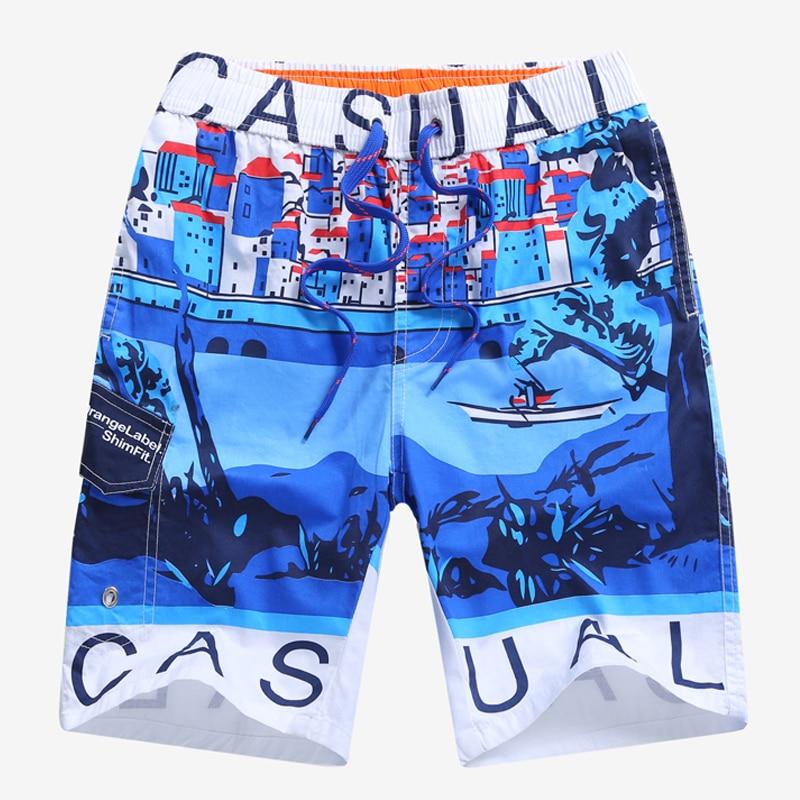 New 2019 Summer Children Boys Beach   Shorts   7-15 Yrs Boys Casual   Shorts   Kid Beach Surf Swimwear Child Board   Shorts   Board   Shorts