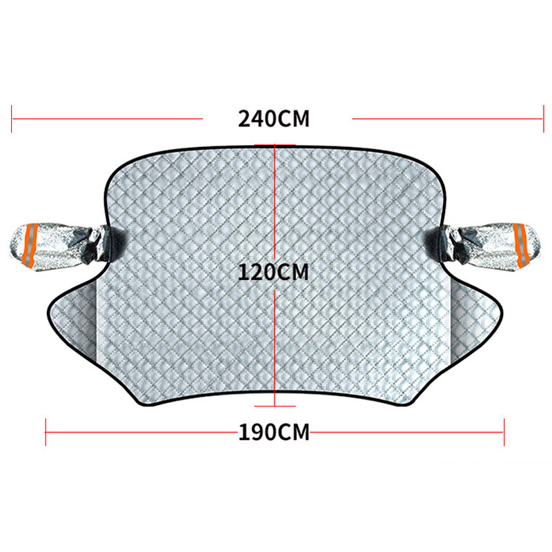 Car Windscreen Sunshade Cover Auto Parasol Magnetic Auto Car Window Screen Frost Ice Large Snow Dust