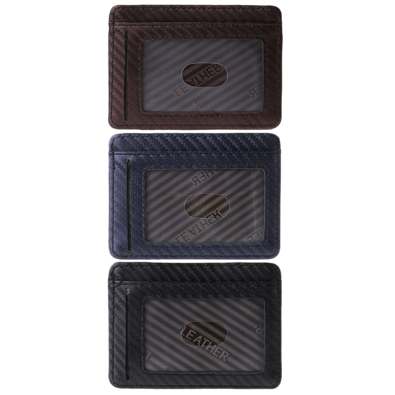 Wallet Card-Holder Case Bank Id-Cards Credit Slim Secure Hot Thin Bag Simple