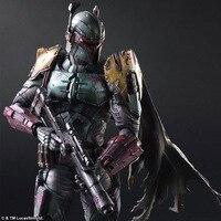 Play Arts Star War Imperial Stormtrooper Darth Vader Bounty Hunter Boba Fett 26 cm PVC Hành Động Hình Doll Đồ Chơi Trẻ Em quà tặng