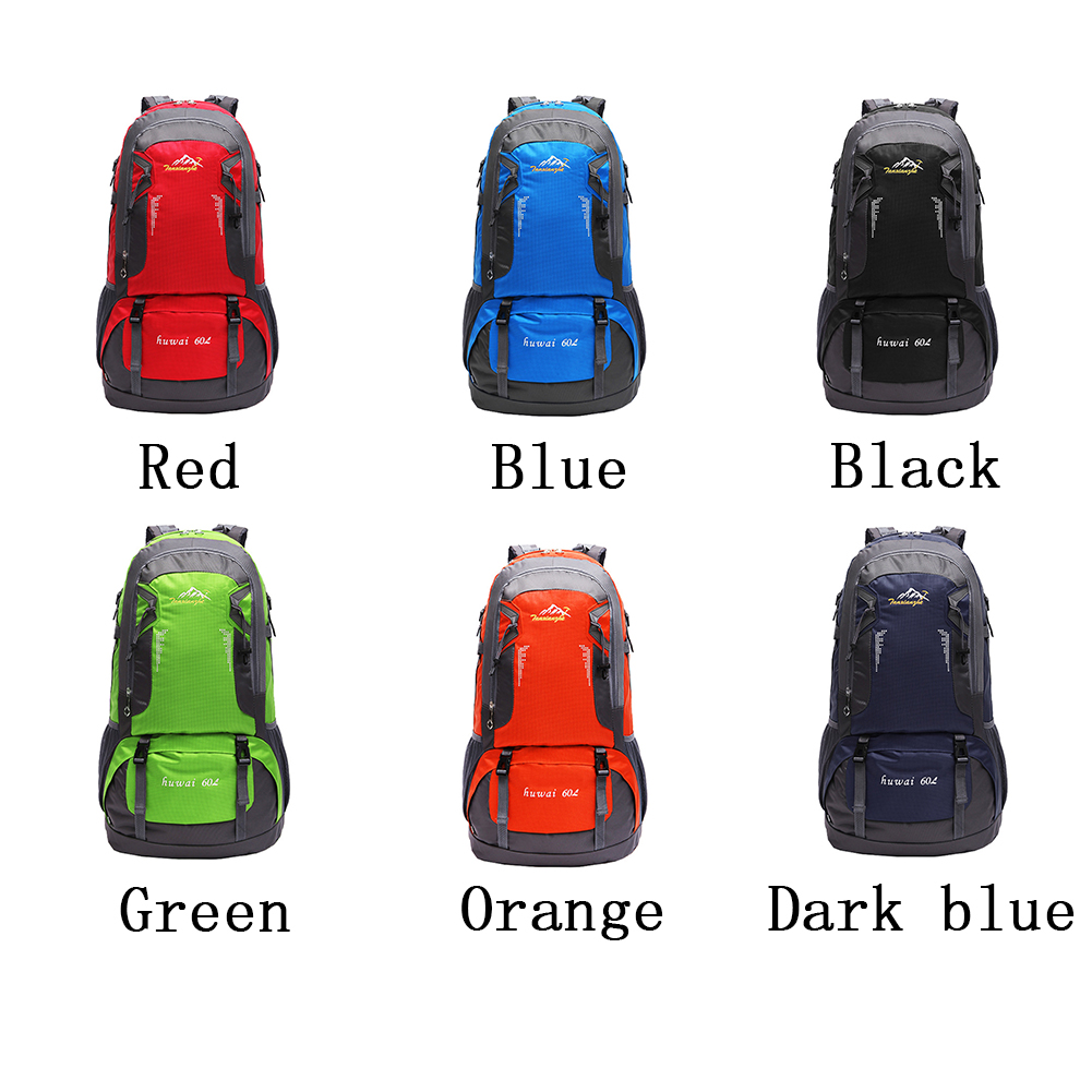 Doppio Spalla Sacchetto Di L red Scuro Black Color 60 orange Escursione blue Sport Esterno green Da blu Campeggio Alpinismo Impermeabile Del Color Viaggio Color Nylon Della Zaino Color 6qw7Zd