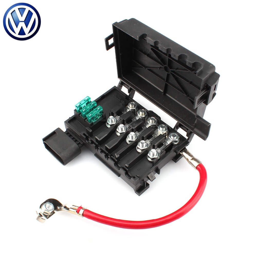 New Battery Terminal Fuse Box Holder For Vw Volkswagen Accessory Wire To Jetta Golf Mk4 Bora Beetle 1j0 937 550 A In Cables Connectors From Automobiles