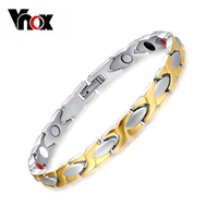 100 Titanium Health Bracelet Bangle For Women Jewelry Magnet Couples Accessories Free Nail Tool