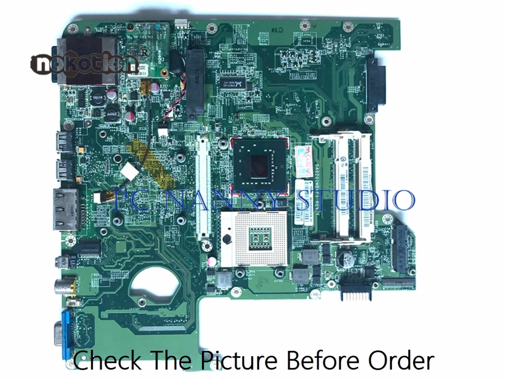 PANANNY For ACER 4720 4720Z 4720G 4720Z MOTHERBOARD  MBAKD06001 DA0Z01MB6F1 GL960 DDR2 Tested