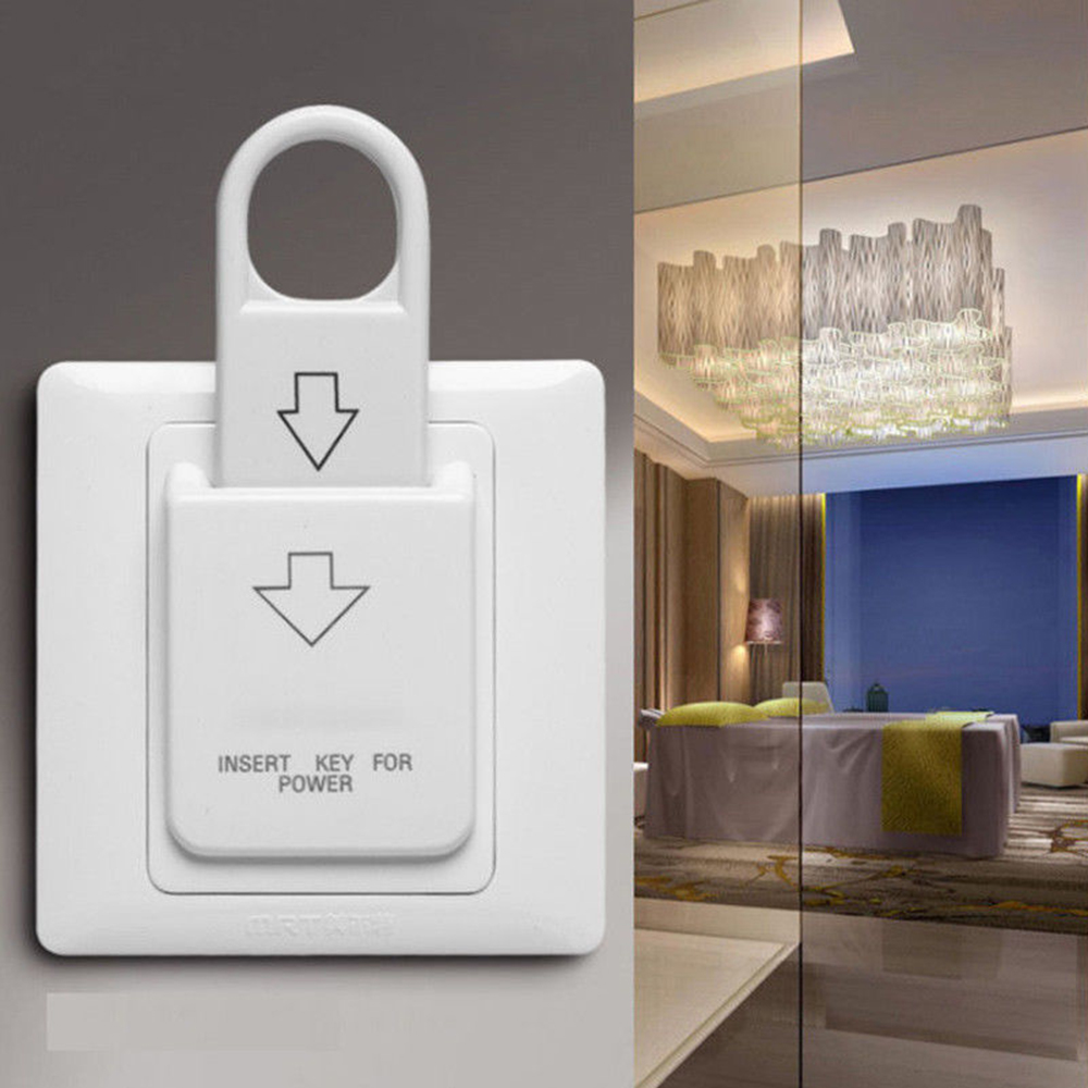 High Quality Hotel Magnetic Card Switch Energy Saving Switch Insert Key For Power