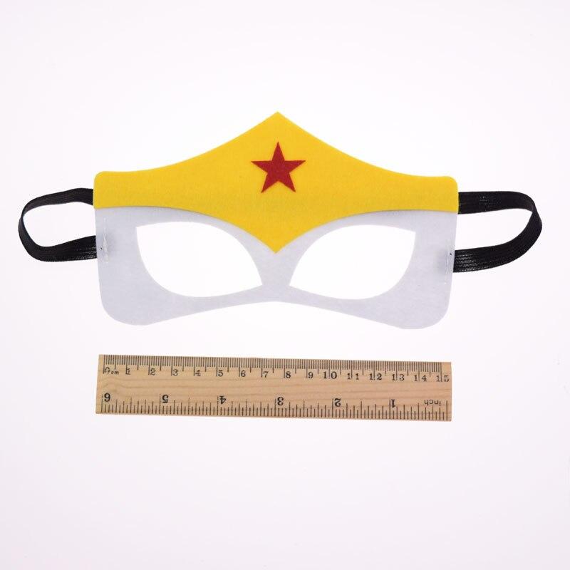Wonder Woman The Flash Superhero mask Cosplay Batman Thor IronMan Princess Halloween Christmas kids adult Party Costumes Masks