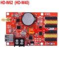 HD-W62 (HD-W40) 2*HUB08 4*HUB12 1024*64 USB+WIFI LED display control card Single & Dual Color LED control system HD W62 5pcs/lot