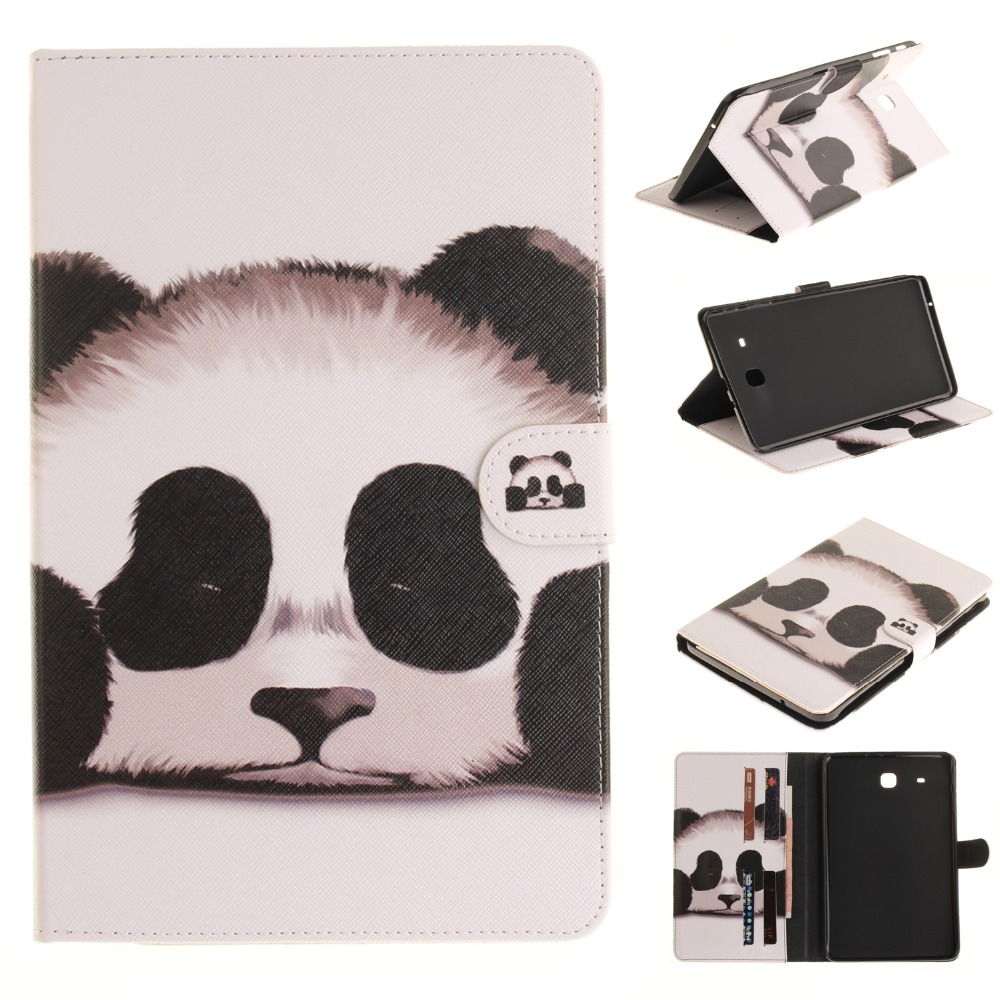 Tablet Cover for Samsung Galaxy Tab E 9.6 T560 T561 Case Cover Case for coque Samsung T560 T561 9.6 inch Case with Card Holder 2017 new products luxury 360 rotating flip leather stand cover tablet case for samsung galaxy tab e 9 6 t560 t561 case stylus