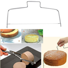 Регулируемая проволока из нержавеющей стали нож для нарезки торта резак для теста и пиццы Кухня инструмент выпечки FBE2