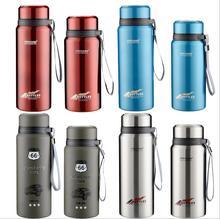 Außen Edelstahl Isoliert Thermosflasche Thermo Isolierflasche Thermos Thermische Kaffee Garrafa Termica Sport Termos