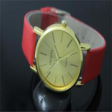 NEW Free delivery Males/Ladies Informal Fake Leather-based Band Case Alloy Quartz Analog Wrist Watches Style Equipment