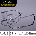 Мода глаз золото очки кадров для мужчин бизнес большие кадр очки очки оптические titanium 8256 оптически рамка