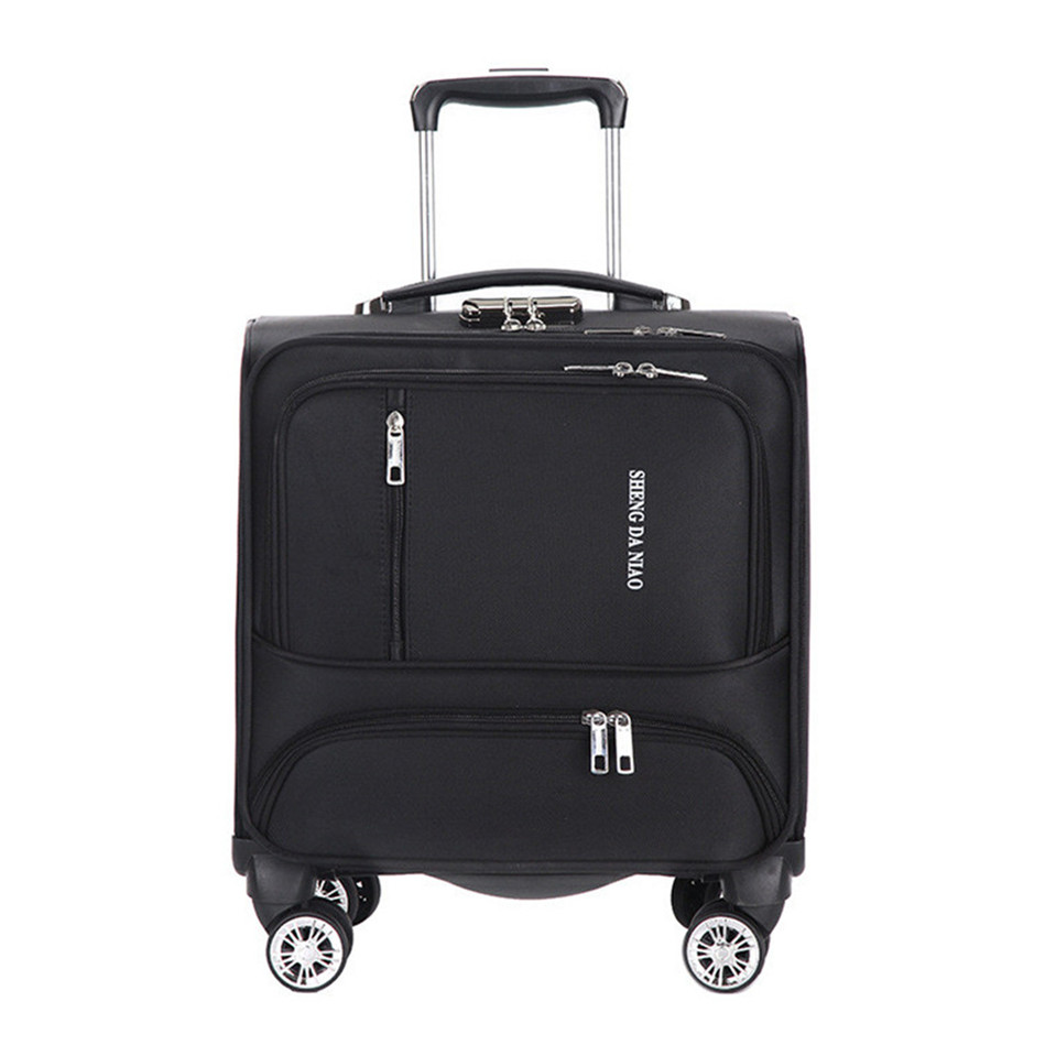 18 INCH Waterproof Oxford Suitcase Trolley Luggage Business Trolley Case Mens Suitcase Women Travel Luggage Bag Rolling valise 18 INCH Waterproof Oxford Suitcase Trolley Luggage Business Trolley Case Mens Suitcase Women Travel Luggage Bag Rolling valise