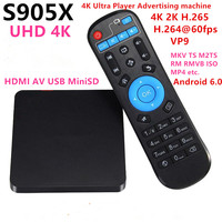 REDAMIGO 4K HD 1080P mini Media Player for Center MultiMedia Video Player with IR Extender HDMI AV USB SD/MMC HDDX1