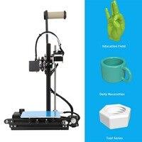 Creality Ender2 3D принтеры высокая точность печати больших Размеры 150x150x200 мм ЖК дисплей 3d Друкер комплект Алюминий Frame корабль из Германии