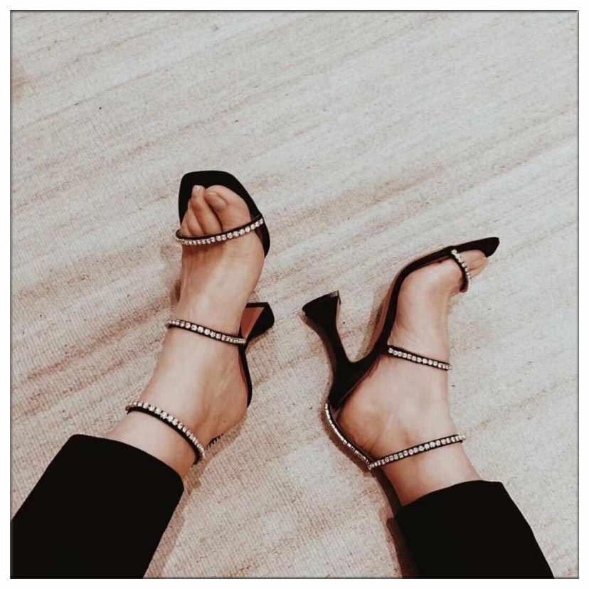 Zwart Zilver Gladiator Sandalen Vrouwen Cut-outs Zomer Schoenen Vrouw Pompen Crystal Decor Sandalias Mujer 2019 Nieuwe Ontwerp Hoge hakken