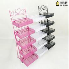 Mask shelf nail polish display cosmetic cashier small kitchen racks