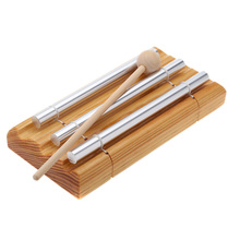 Percussion-Instrument Musical-Toy Mallet with Exquisite Kid Children Three-Tone Energy-Chime