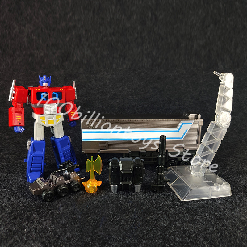 JinBao Transformation à Petite échelle Optimus Swordsman Déformé jouet transport D'ingénierie véhicule jouets les jouets de Collection