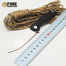 WLT Wild Boar Small F3 Folding Blade Knife G10 Handle 30 EVO Ball Bearing Tactical Camping Knives Outdoor Survival OEM Tools EDC