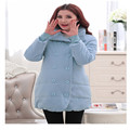 3 цвета беременная женщина одежда 2016 мода Зима стиль плюс размер материнства пальто бесплатная доставка