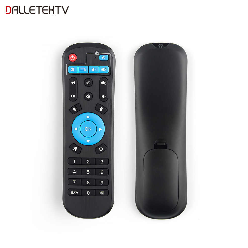Dalletektv Control remoto para Android TV Box LEADCOOL/Q9/Q1304/Q1404/Q1504 Smart TV Android TV caja