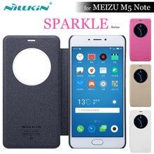 Meizu M5 Note чехол Nillkin Sparkle Smart View Флип кожаный защитный Nilkin чехол для Meizu M5 Примечание/ meilan Note5