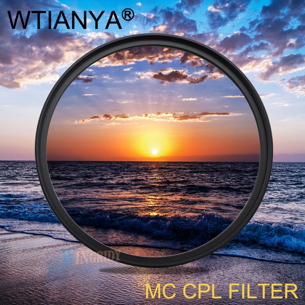 82mm MC CPL Filter WTIANYA Zirkularpolfilter DMC CPL Objektiv Filter 82mm Filtro MCCPL für DSLR kamera Linsen objektiv zubehör