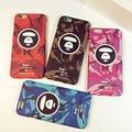 2016 new legal case para iphone 5 5s 6 5S bape 6 s 6 Plus Pitecantropo Camouflage Matagal Telefone Shell Protetora Da Pele Voltar cobrir