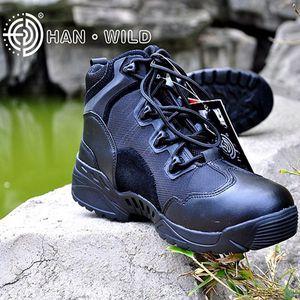 Military Combat Tactical Boots