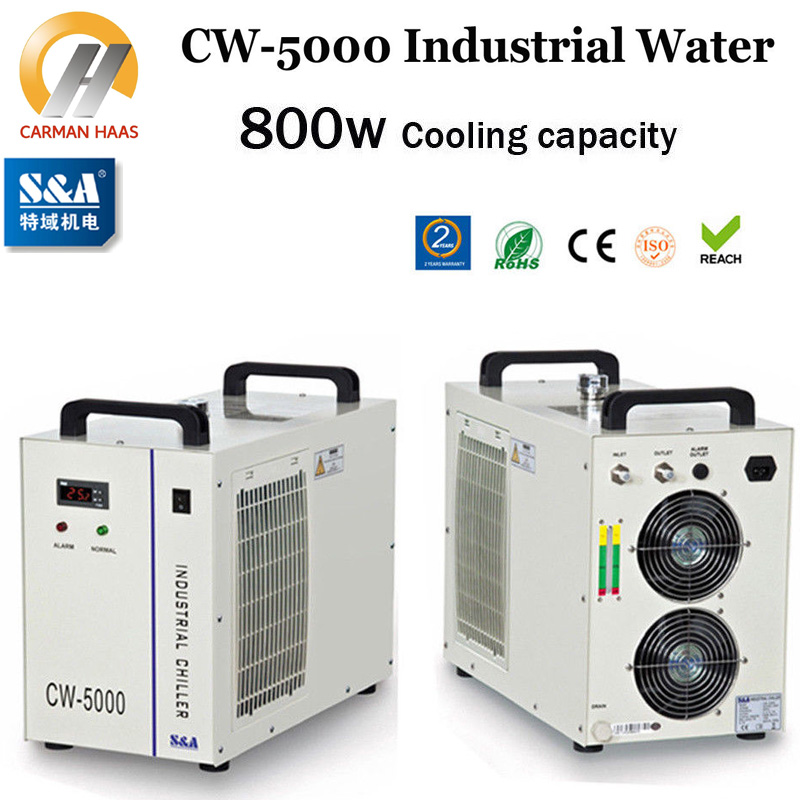 CW5000 Industry Air Water Chiller for CO2 Laser Engraving Cutting Machine Cooling 80W 100W Laser Tube cw5000 industry air water chiller for co2 laser engraving cutting machine cooling 80w 100w laser tube